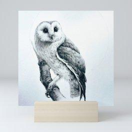 Owl Screech Mini Art Print
