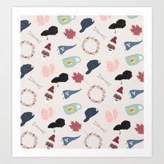 Gilmore Girls Art Print