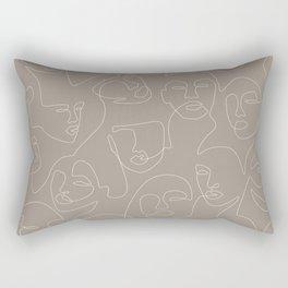 Skin Lace Rectangular Pillow