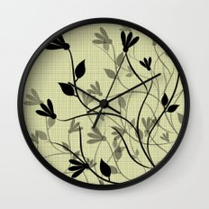 Whispering Breeze Wall Clock