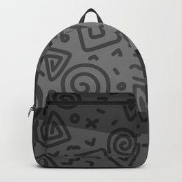 ETHNO PATTERN Modern | grey Backpack