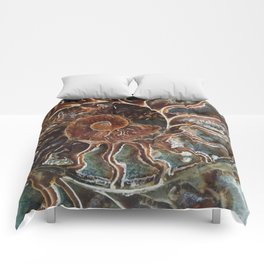 Fossilized Shell Comforters