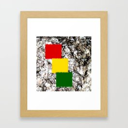 Georgia Rock and The Islands Framed Art Print