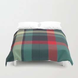 Simply Plaid Duvet Cover