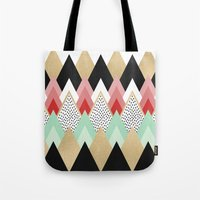 princess Tote Bags featuring Princess by Elisabeth Fredriksson