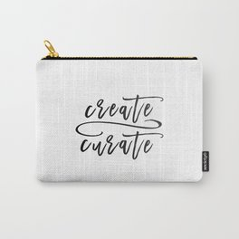 Create / Curate Carry-All Pouch