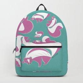Skunk Le Pink (c) 2017 Backpack