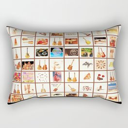 A Fun Mix Of Music & Life Rectangular Pillow