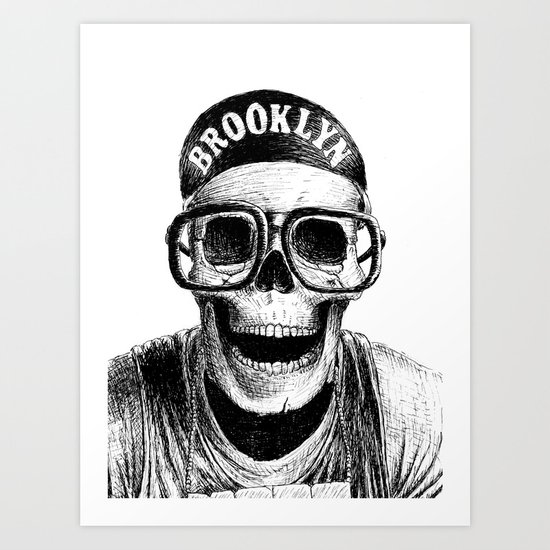 Mars Blackmon Art Print