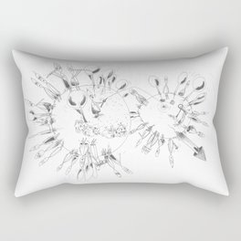there is other planet Rectangular Pillow