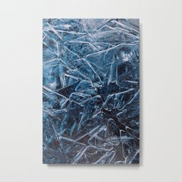 Ice Cells Metal Print