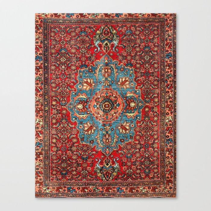 Bidjar Antique Kurdish Northwest Persian Rug Print Leinwanddruck