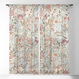 """William Morris """"Acanthus portière"""" Sheer Curtain"""