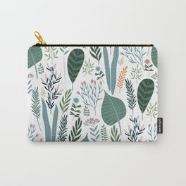 Early Spring Thaw In The Flower Garden Pattern Carry-All Pouch