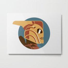 Headgear: Rocketeer Metal Print
