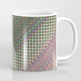 54466666 + Sin(Cos(Sin(i × j + n + k))) × 234466    [Pattern Green Rug] Coffee Mug