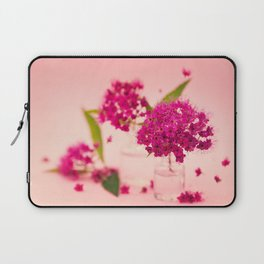 Pink Spring Flowers - Meera Mary Thomas Design Laptop Sleeve