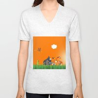 What's going on in the jungle? Kids collection Unisex V-Neck
