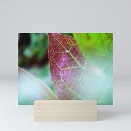 Soft Focus Fall Leaves Mini Art Print