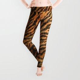 Bengal Tiger Fur Wildlife Print Pattern Leggings