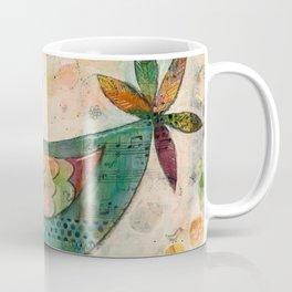 Blue(ish) Bird Coffee Mug