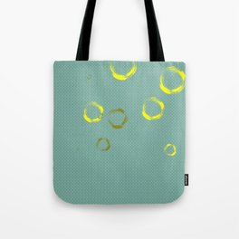 Golden rings Tote Bag