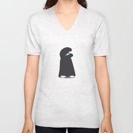 Burqa Smurf Unisex V-Neck