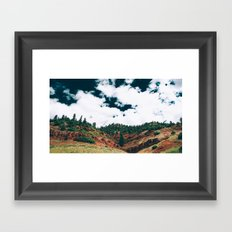 Colorado Valley Framed Art Print