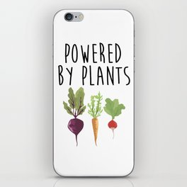 Powered by Plants iPhone Skin