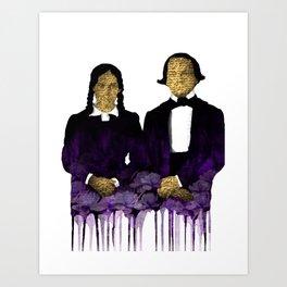 The extacy Art Print