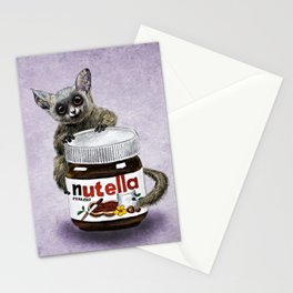Sweet aim // galago and nutella Stationery Cards