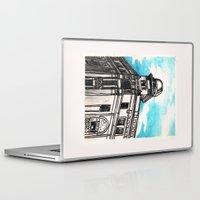 philippines Laptop & iPad Skins featuring Philippines : Regina Building by Ryan Sumo