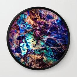 Labradorite. Wall Clock