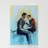 sterek Stationery Cards featuring sterek by AkiMao