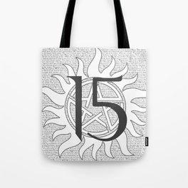 SPN Print (White) Tote Bag