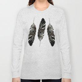 Three feathers Long Sleeve T-shirt