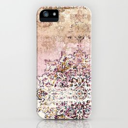 PATCHWORK PATTERN ART SITAMARHI iPhone Case
