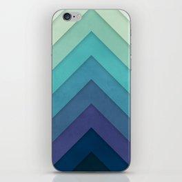 Retro Chevrons 001 iPhone Skin
