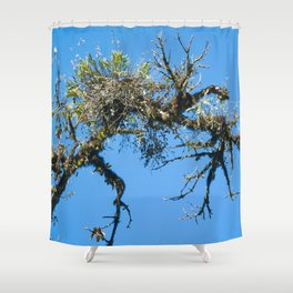 Treehuggers Shower Curtain