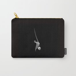 Monochrome Gemsbok Portrait Carry-All Pouch