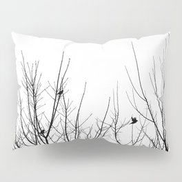 Birds on Branches Pillow Sham