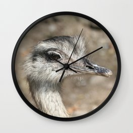 Common Rhea 001 Wall Clock