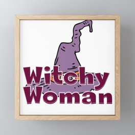 Witchy Woman Framed Mini Art Print