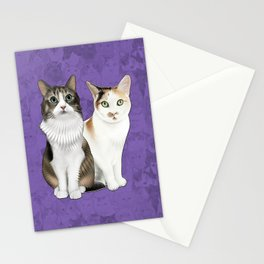 Lupin and Tonks Stationery Cards