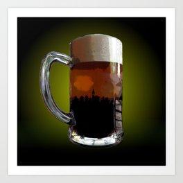 Big Beer Art Print