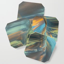Sunrise Tornado: digital abstraction Coaster