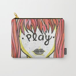 """Words Within: """"Play"""" Carry-All Pouch"""