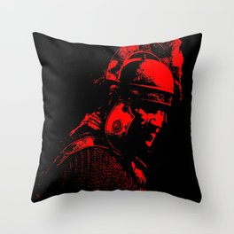 Ancient Roman Centurion Throw Pillow