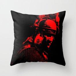 Ancient Roman Centurion Throw Pillow