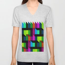 A Todo Color Unisex V-Neck